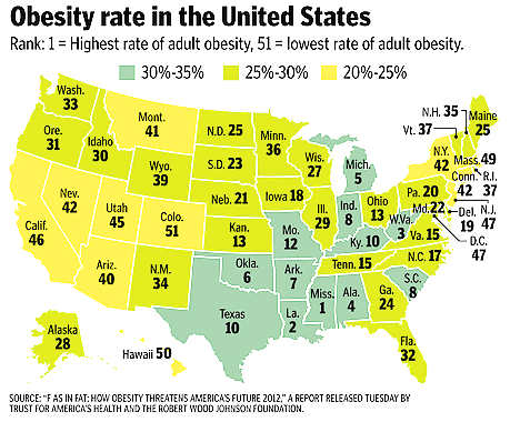 How many obese adults in america